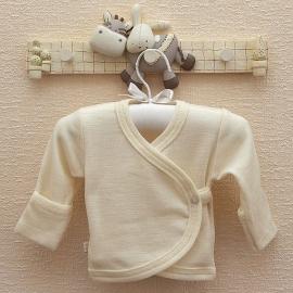 Kimono vestje merino wol zijde