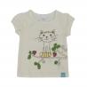 Baby T-shirt met kat